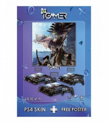 اسکین PS4 آی گیمر طرح جدید شماره 18