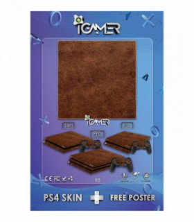 More about اسکین PS4 طرح Leather