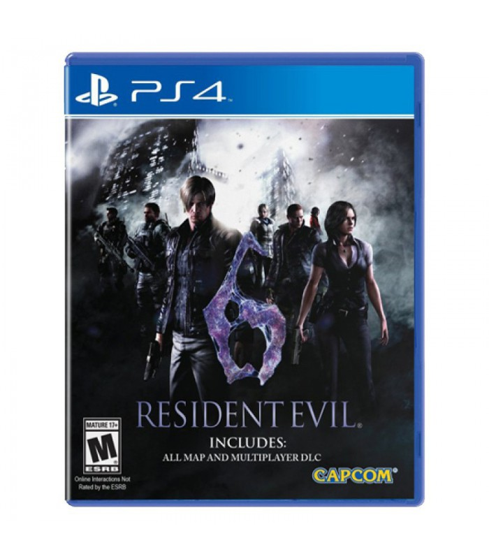 Resident Evil 6 - پلی استیشن ۴