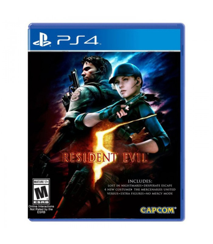 ّبازی Resident Evil 5 - پلی استیشن ۴