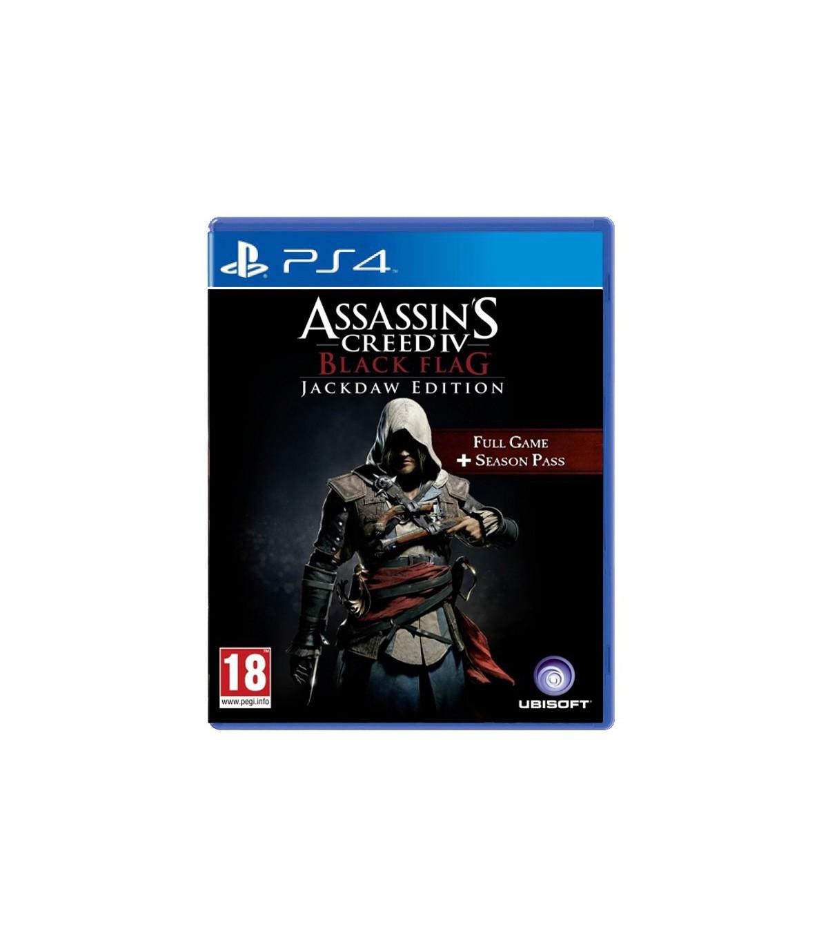 بازی Assassin's Creed IV Black Flag Jackdaw Edition - پلی استیشن 4