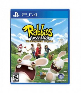 بازی Rabbids Invasion - پلی استیشن 4