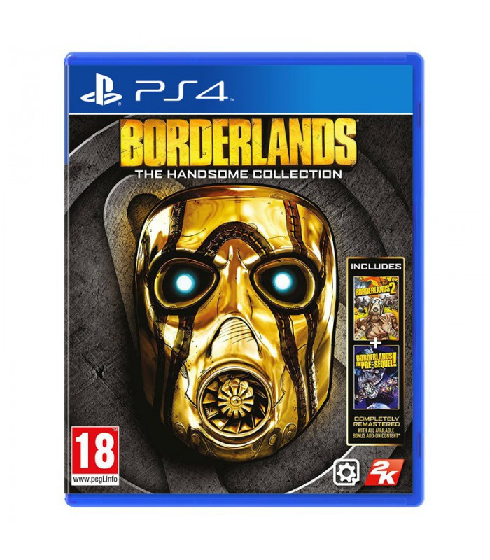 بازی Borderlands: The Handsome Collection  کارکرده - پلی استیشن 4