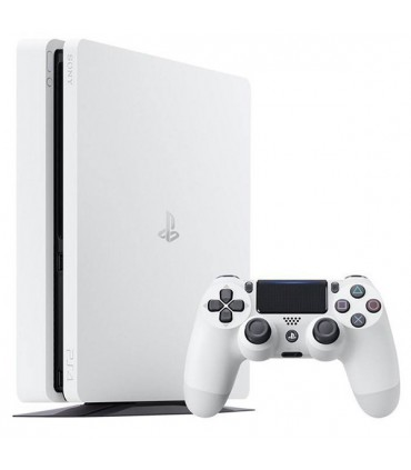 Playstation 4 Slim White Region 2- 500 GB