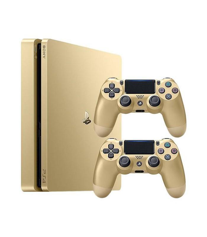 PlayStation 4 Slim 2 controllers -500GB