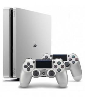 کنسول بازی Playstation 4 Slim Region 2 - طلایی و نقرهای - دو دسته - 500 GB