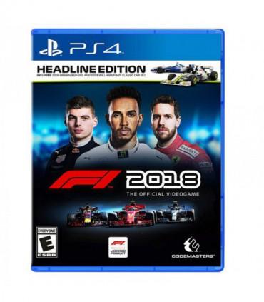 بازی F1 2018 Headline Edition - پلی استیشن 4