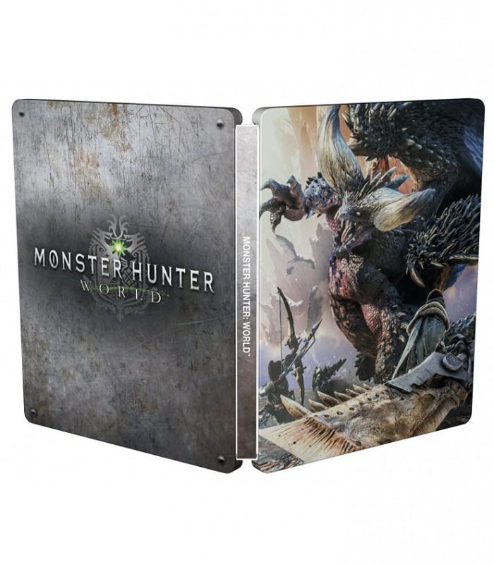 بازی Monster Hunter World Steel Book Edition - پلی استیشن 4