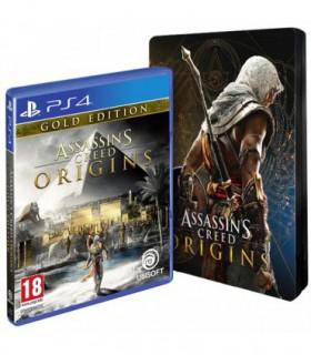 بازی Assassin's Creed Origins SteelBook Gold Edition - پلی استشین 4