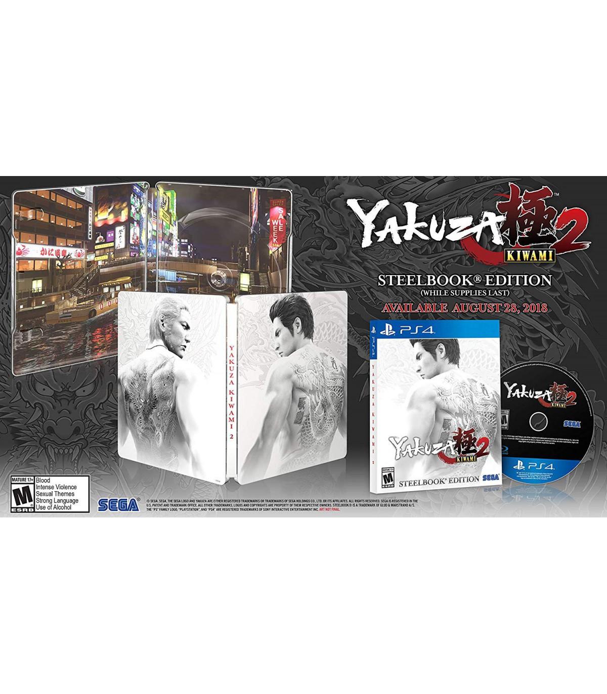 بازی Yakuza Kiwami 2: SteelBook Edition - پلی استیشن 4