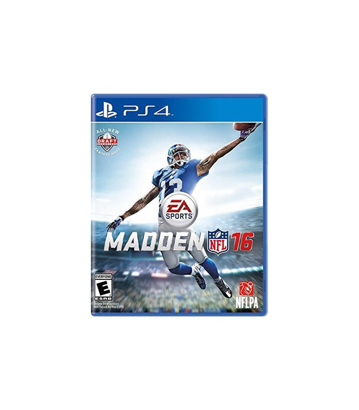 بازی Madden NFL 16 کارکرده - پلی استیشن 4