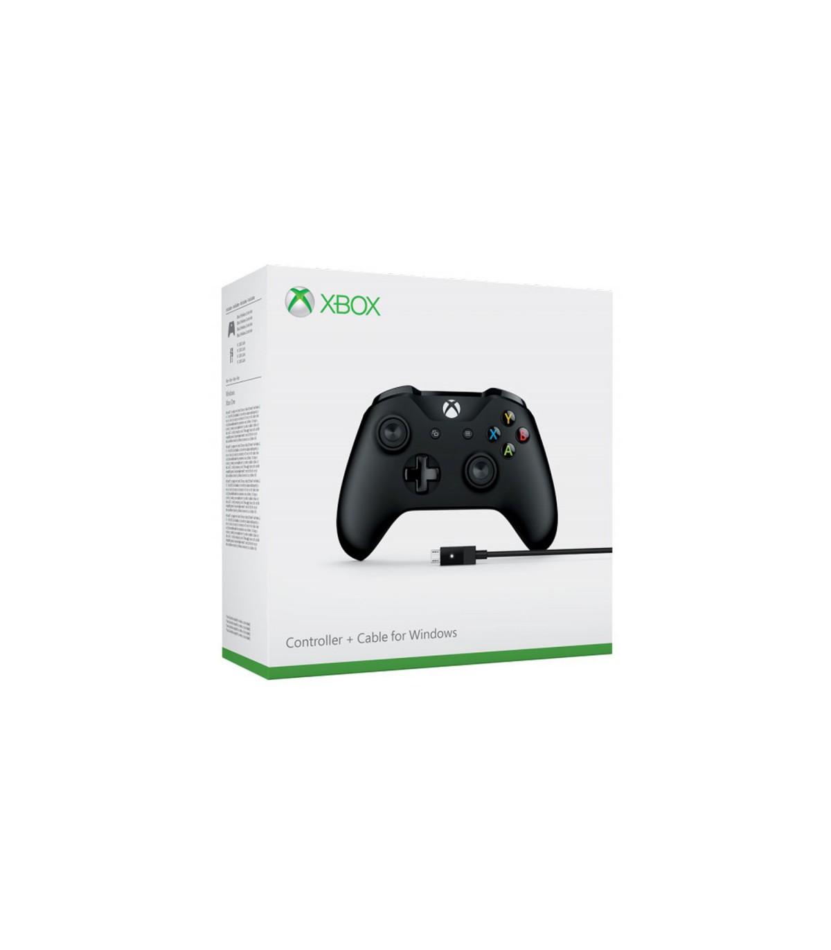 دسته بازی Microsoft Xbox One Controller + کابل برای ویندوز