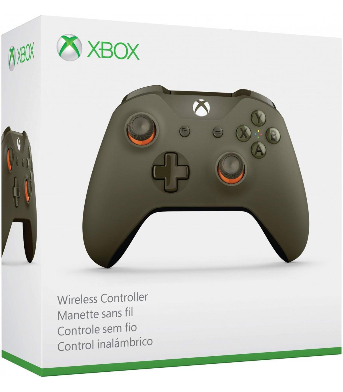 دسته بازی Xbox Wireless Controller سبز/نارنجی