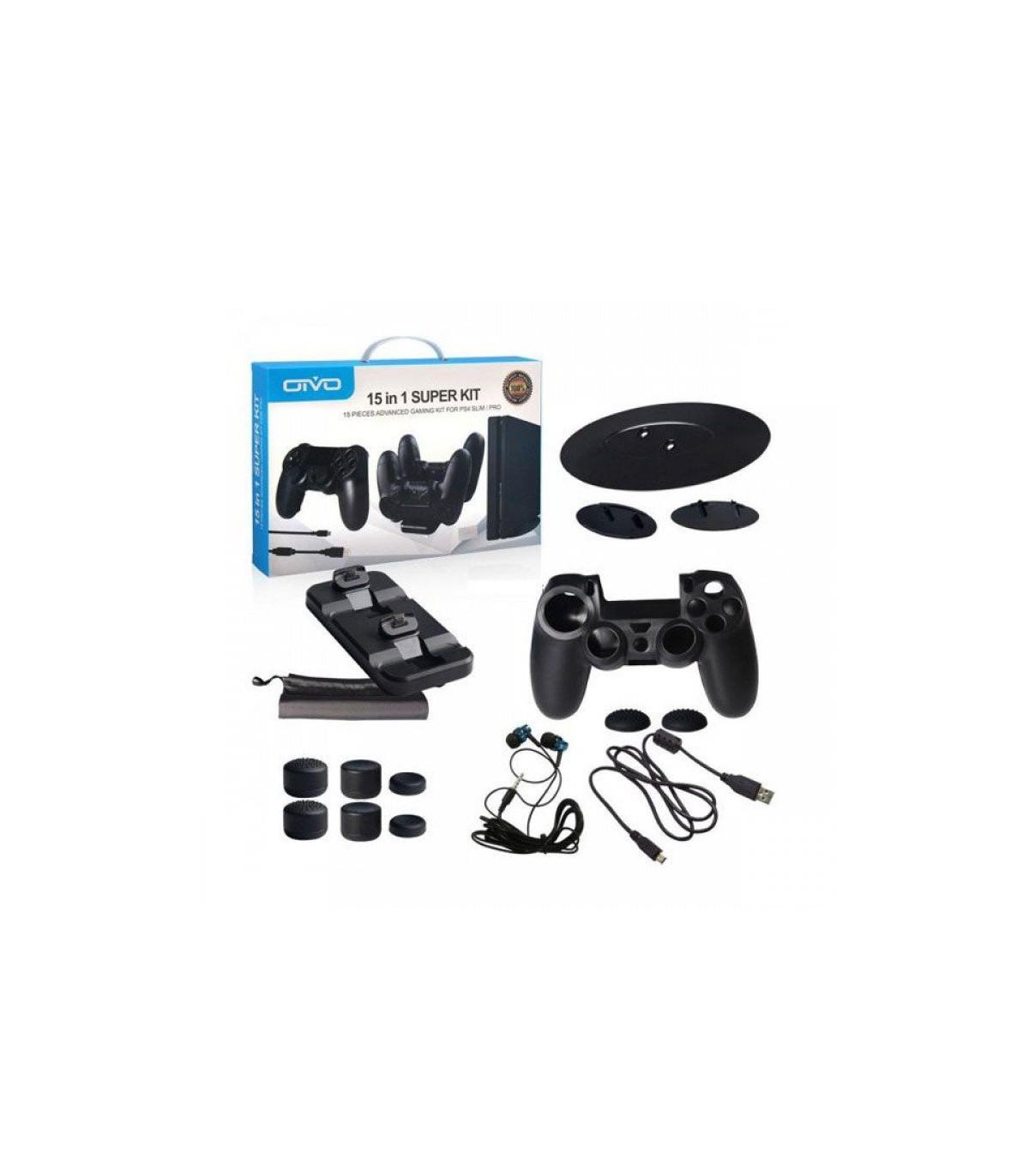 کیت ۱۵ کاره برای پلی استیشن ۴  OTVO 15 in 1 Super Kit  PS4