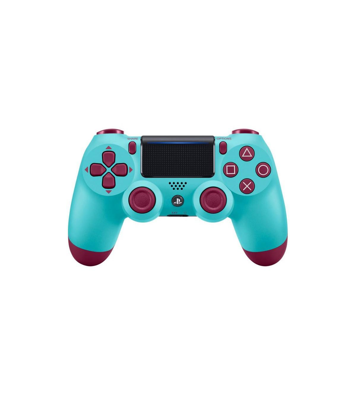 دسته بازی سری جدید رنگ آبی بلوبری DualShock 4 Berry Blue Slim Controller