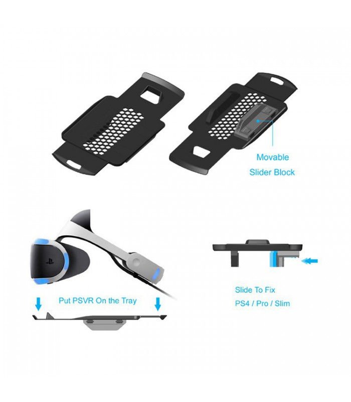 پایه چندمنظوره عمودی پلی استیشن 4 + استند VR