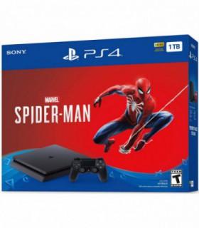 پلی استیشن 4 اسلیم ظرفیت 1 ترابایت باندل اسپایدرمن (بدون بازی)  PS4 Slim 1TB Spider-Man Edition Bundle