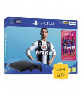 پلی استیشن 4 اسلیم ظرفیت 500 گیگابایت باندل فیفا 19 PS4 Slim CUH-2216A  Fifa 19 Bundle - فاقد بازی