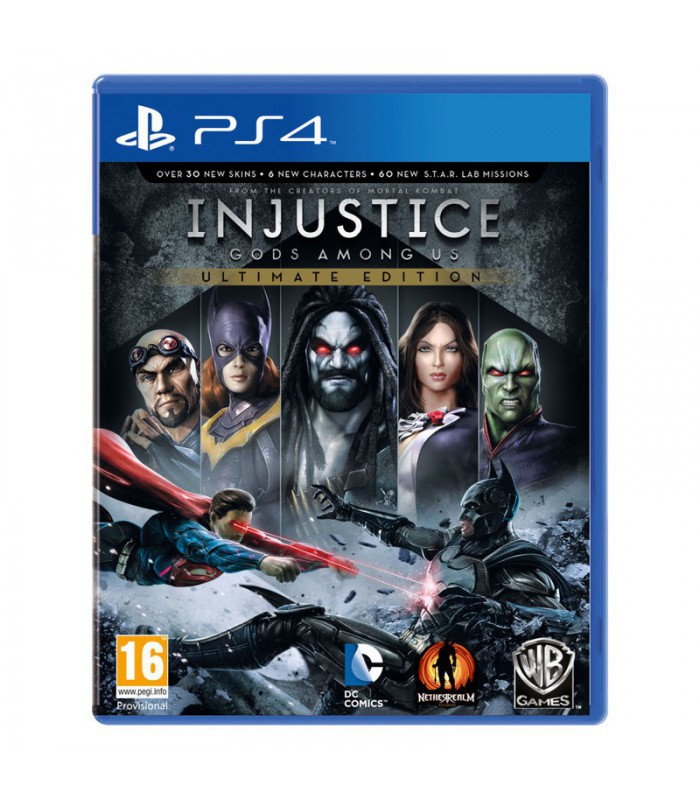 بازی Injustice کارکرده