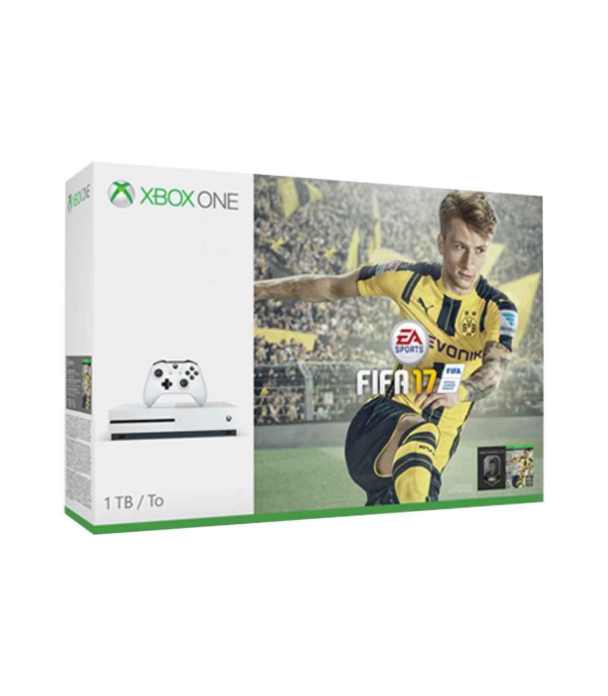 کنسول Xbox One S  باندل FIFA17 ظرفیت 1TB