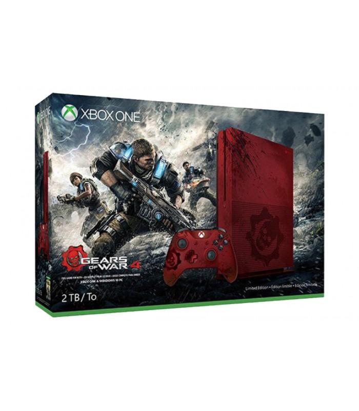 کنسول ایکس باکس وان اس باندل Gears of War 4 Limited Edition