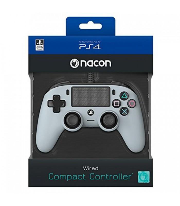 دسته NACON مخصوص پلی استیشن 4 سری جدید Wierd Compact - طوسی