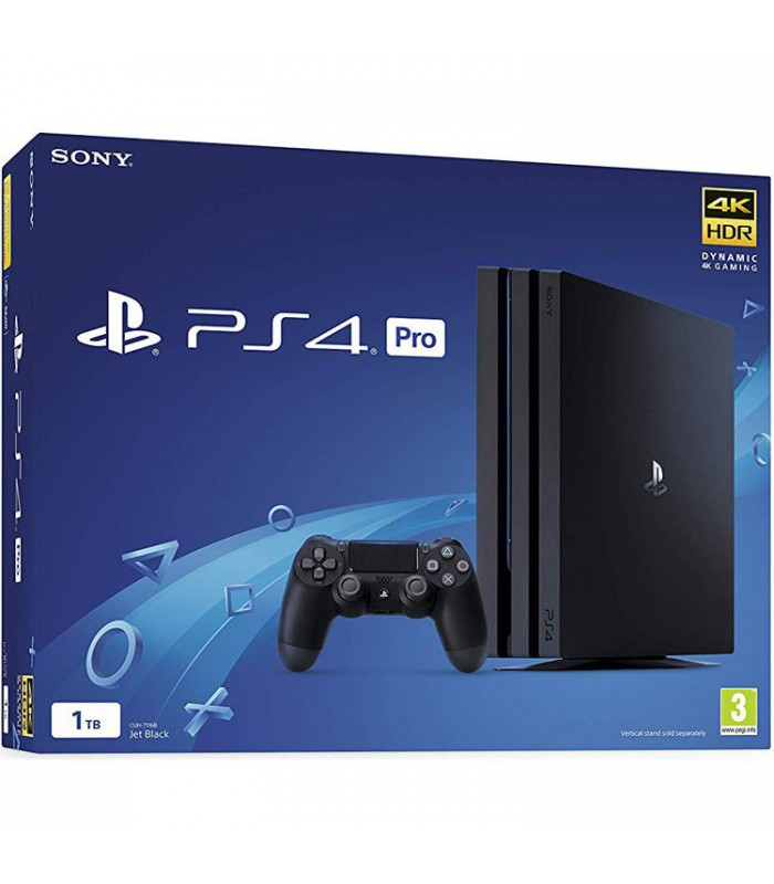 کنسول بازی Playstation 4 Pro کد CUH 7216B ریجن 2 - ظرفیت 1