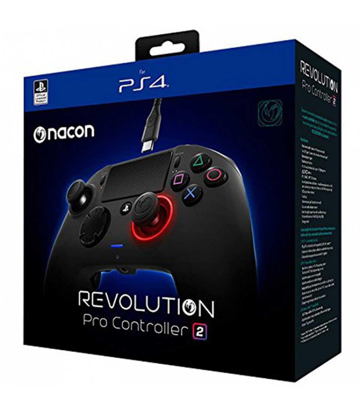 دسته بازی نیکون ورژن 2 NACON Revolution Pro Controller برای پلی استیشن 4