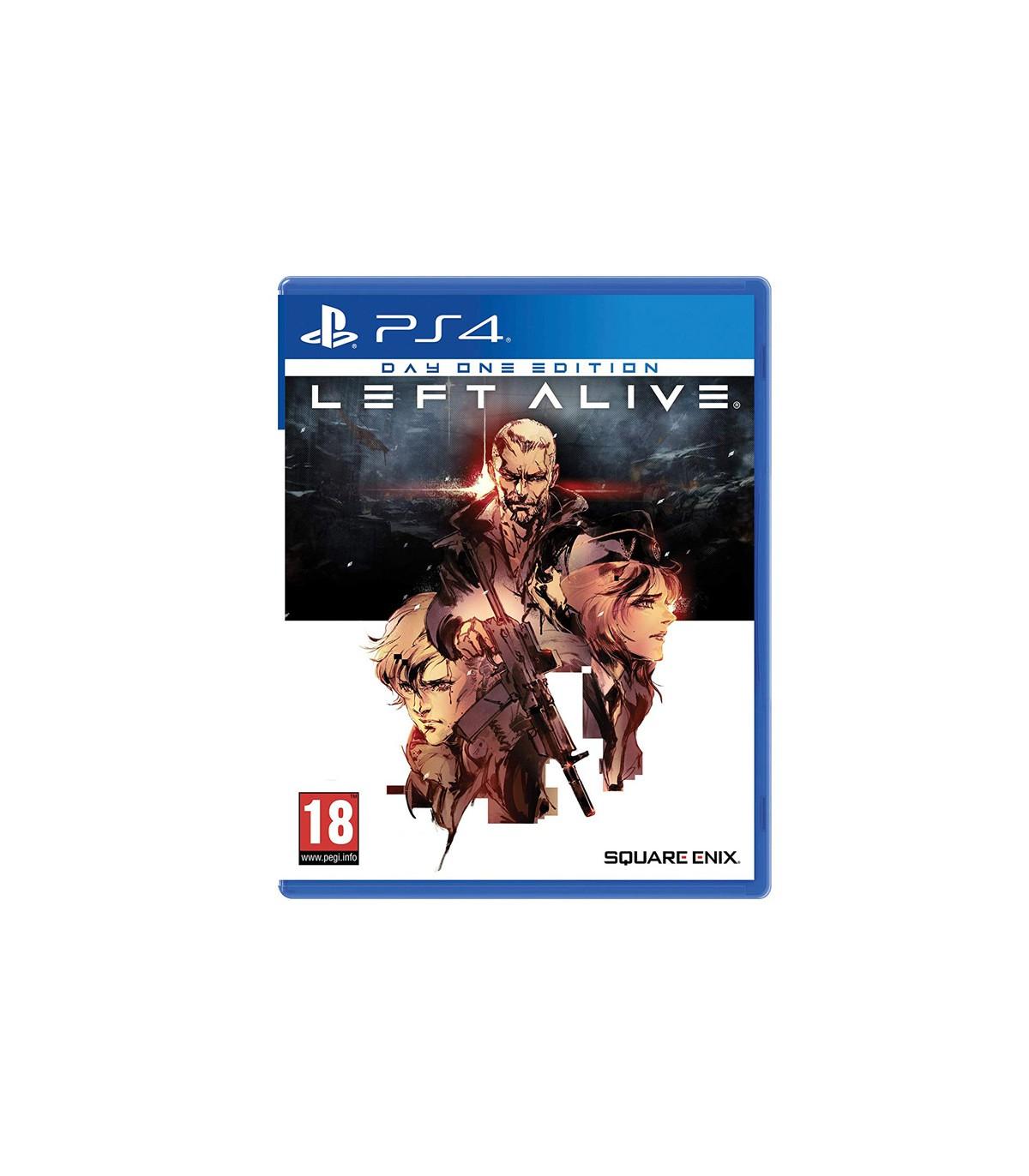 بازی Left Alive کارکرده - پلی استیشن 4