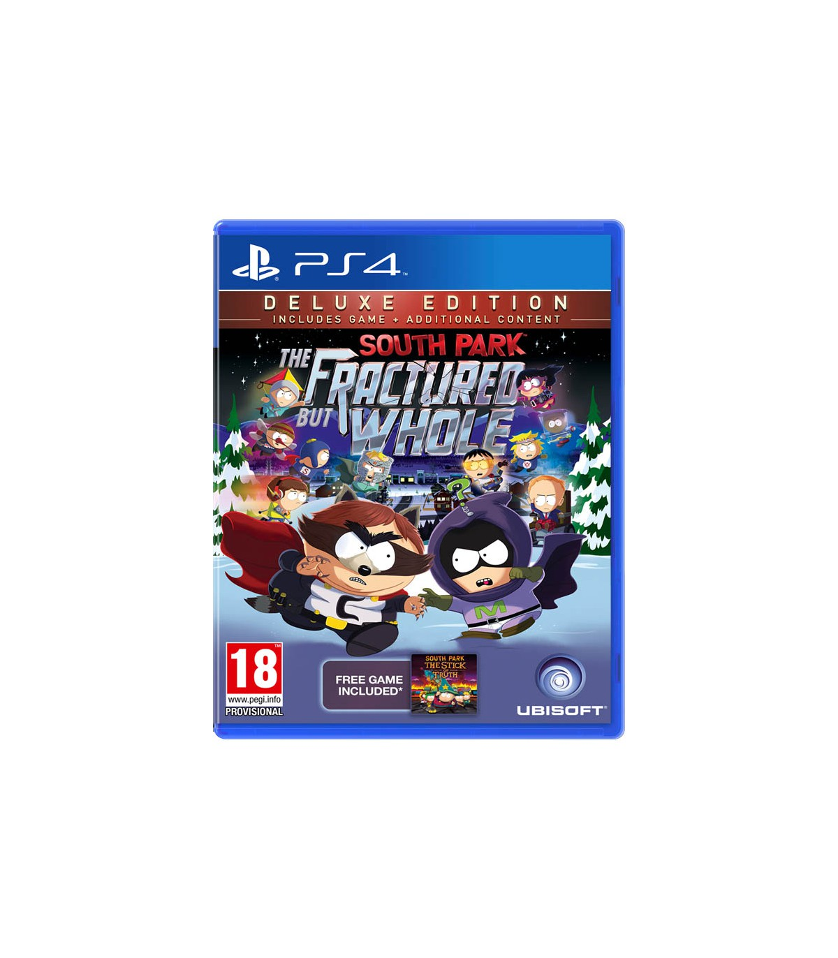 بازی South Park: The Fractured But Whole Deluxe Edition - پلی استیشن 4