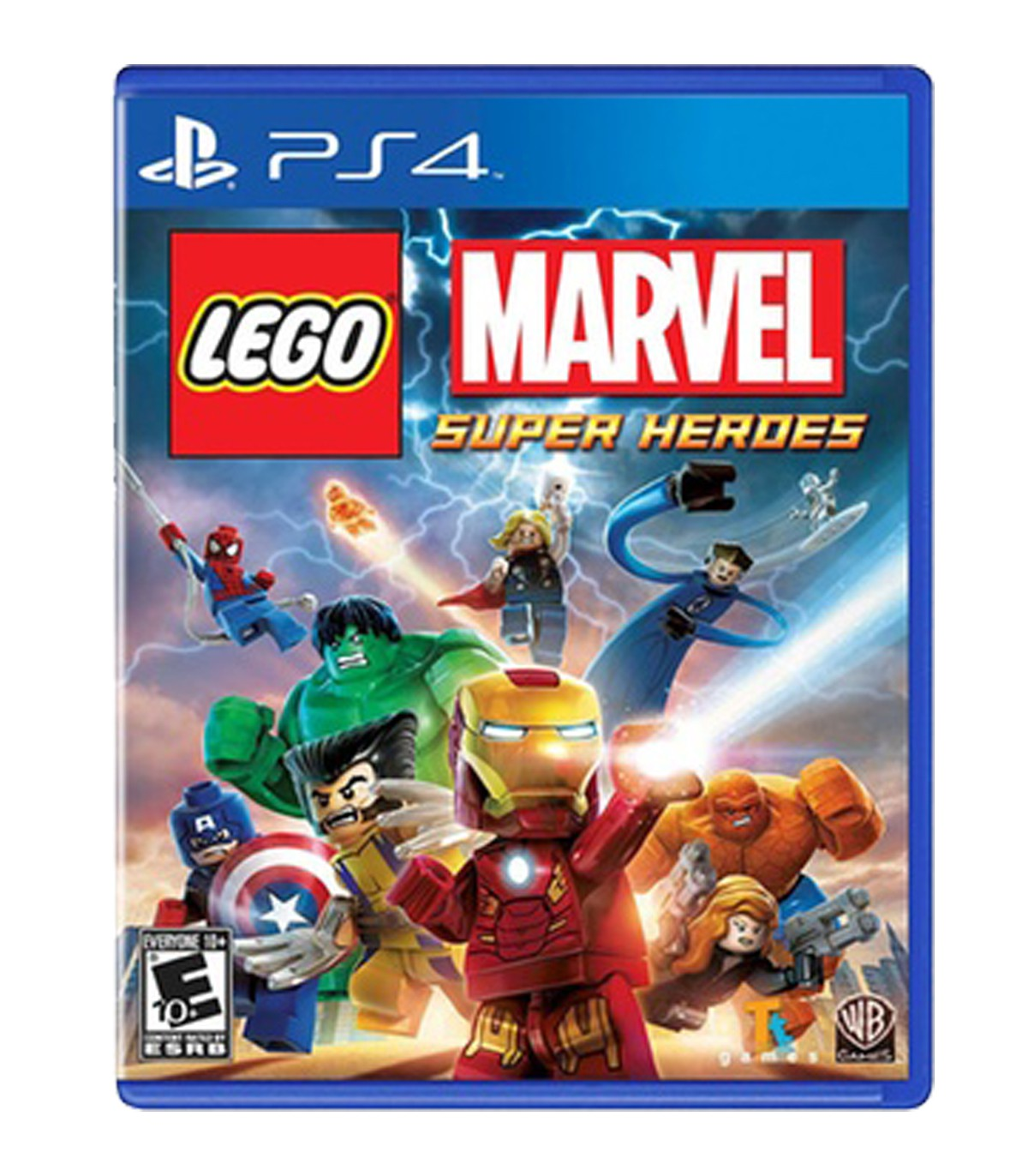 بازی Lego Marvel Super Heroes - پلی استیشن 4