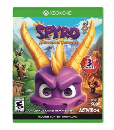 کاور بازی Spyro Reignited Trilogy ایکس باکس وان