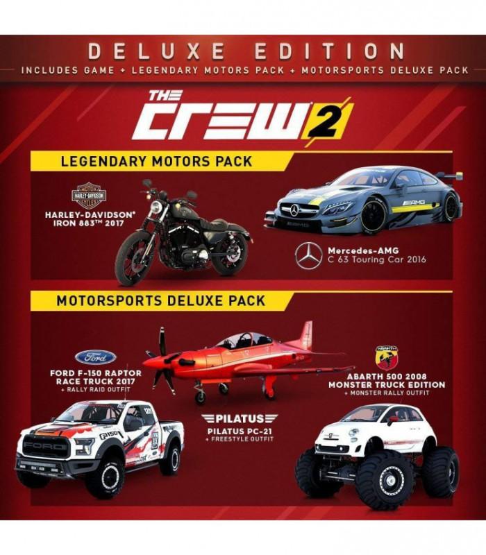 بازی  The Crew 2 Deluxe Edition - پلی استیشن 4