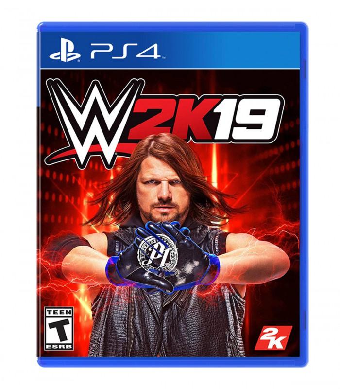 بازی WWE 2K19 کارکرده - پلی استیشن 4
