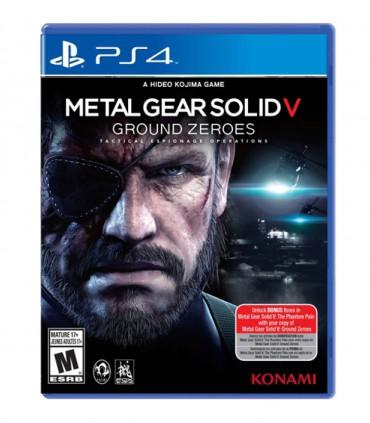 بازی Metal Gear Solid V Ground Zeroes کارکرده - پلی استیشن 4