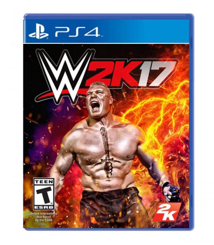 بازی WWE 2K17 - پلی استیشن 4