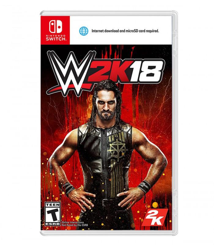 بازی WWE 2K18 کارکرده - نینتندو سوئیچ