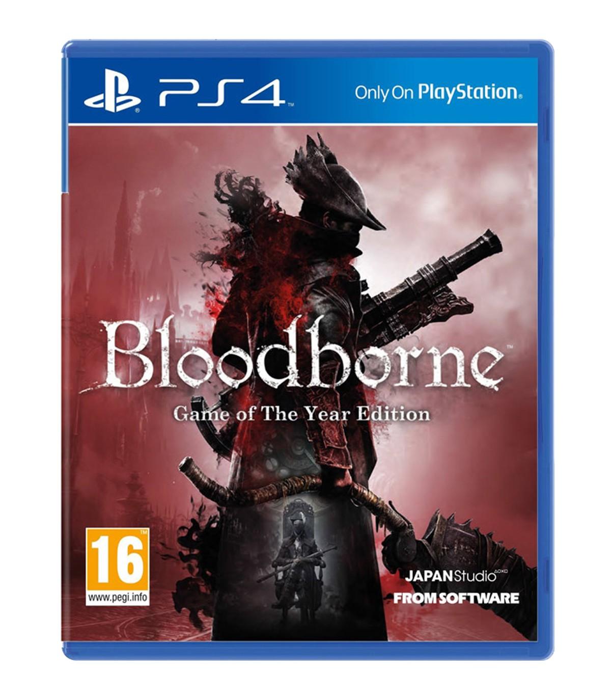 بازی Bloodborne GOTY کارکرده - پلی استیشن 4