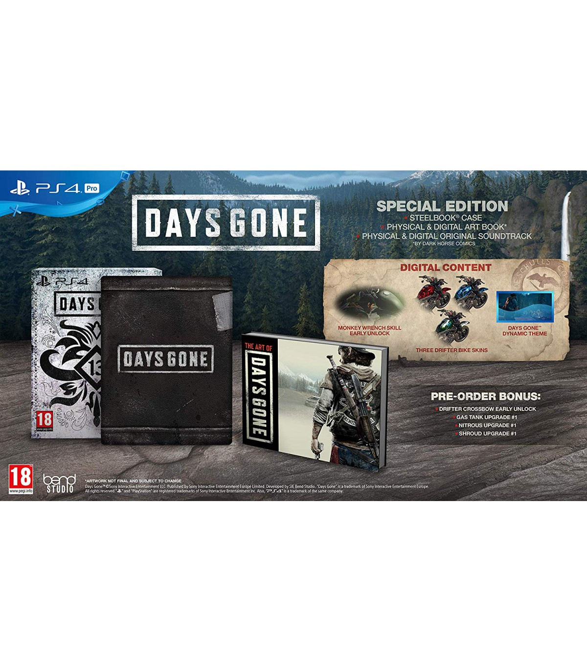 بازی Days Gone Special Edition - پلی استیشن 4