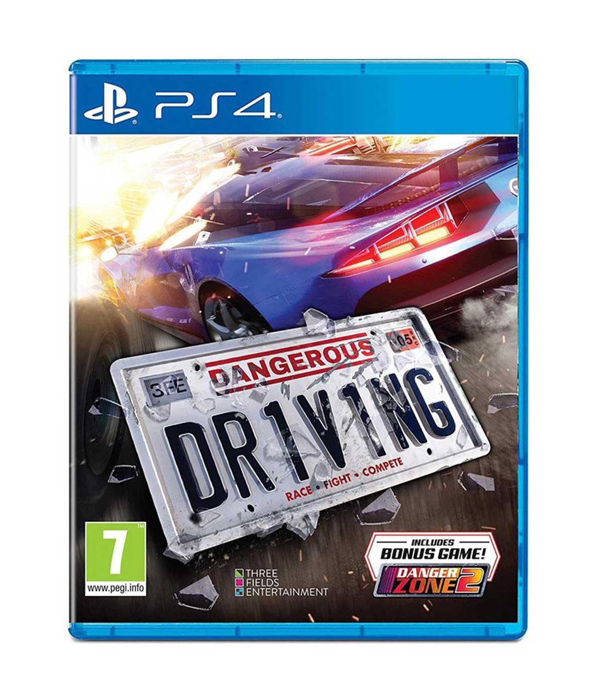 بازی Dangerous Driving - پلی استیشن 4