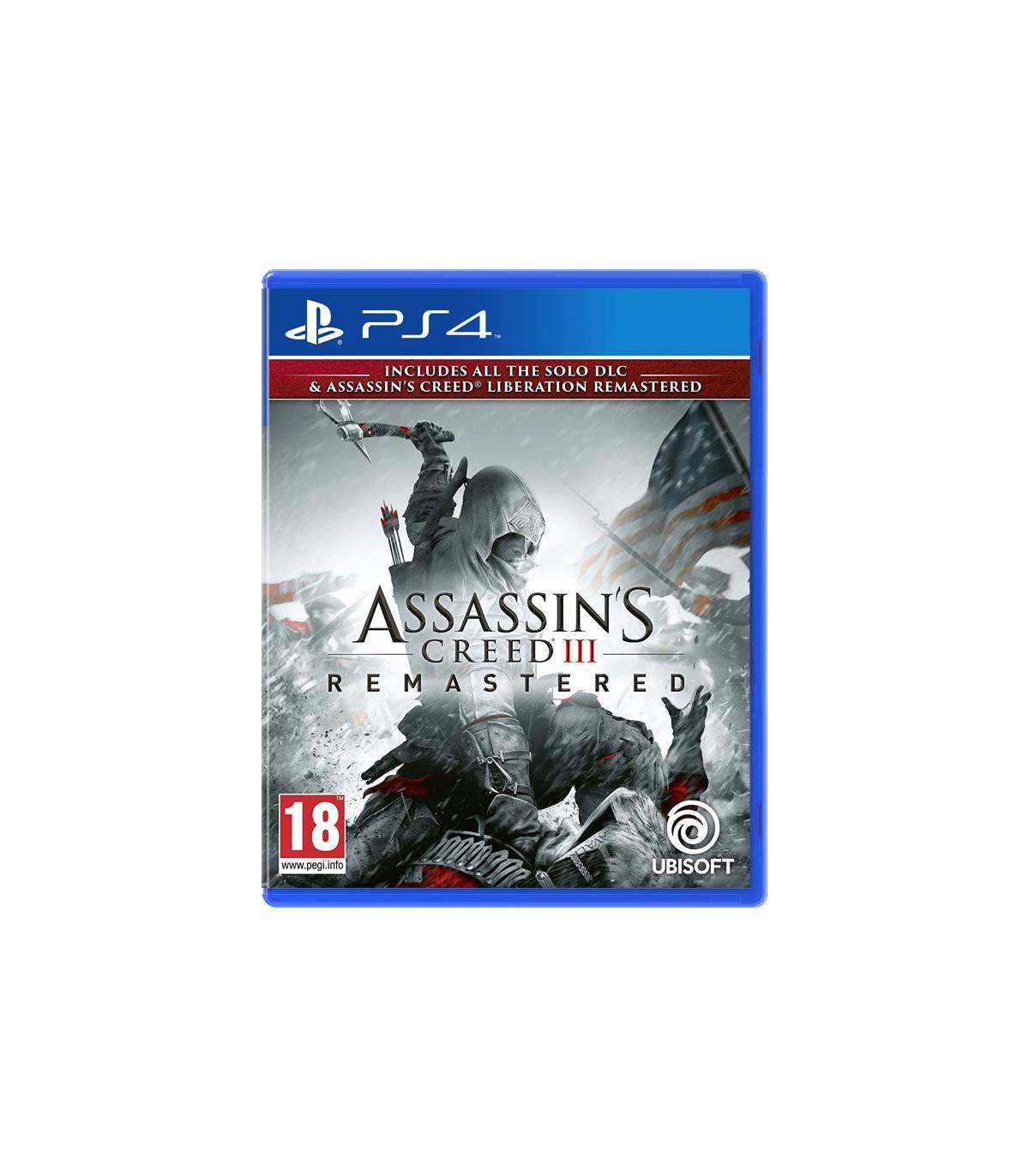 بازی Assassin's Creed 3 Remastered - پلی استیشن 4