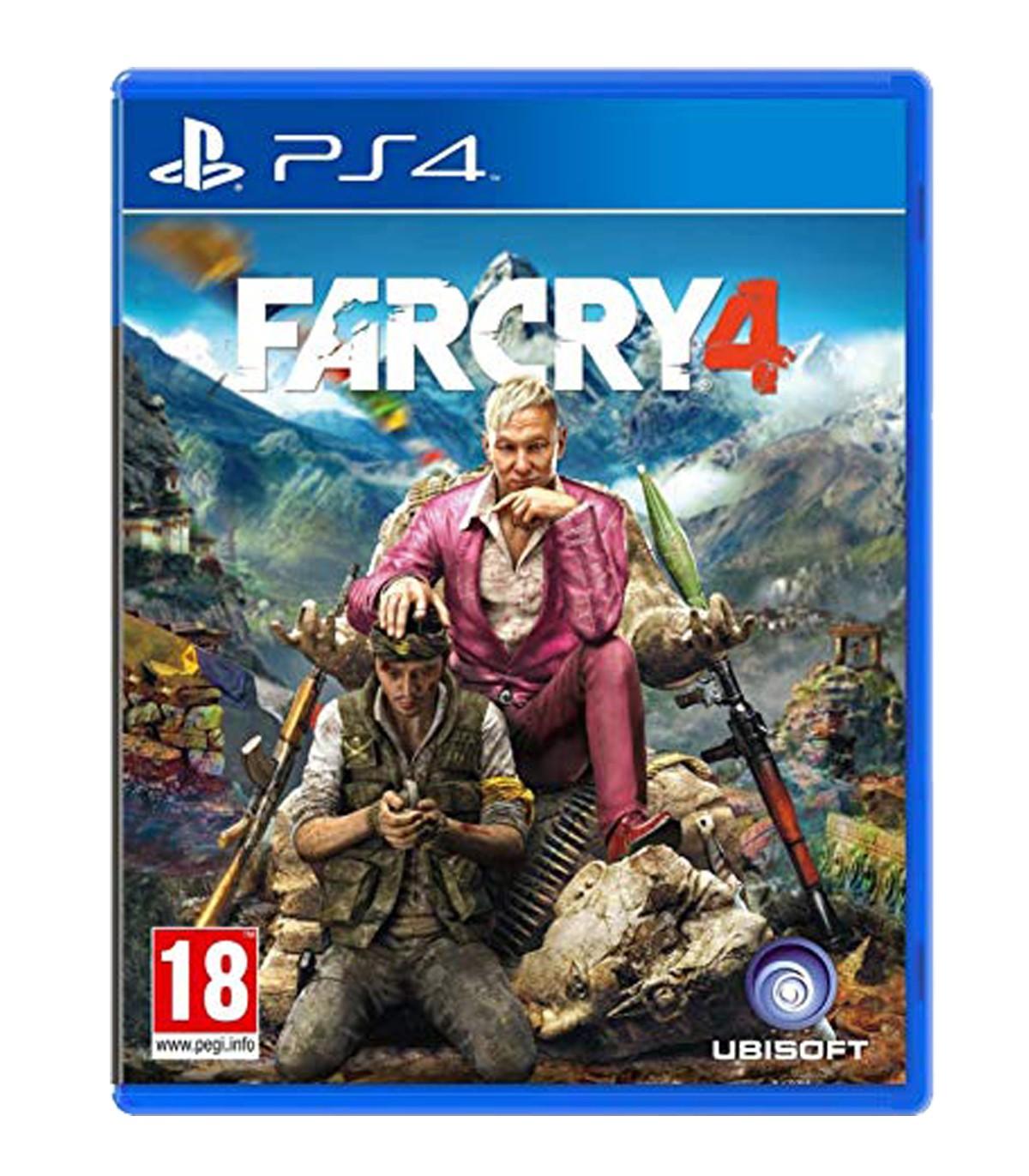 بازی Far cry 4 کارکرده - پلی استیشن 4