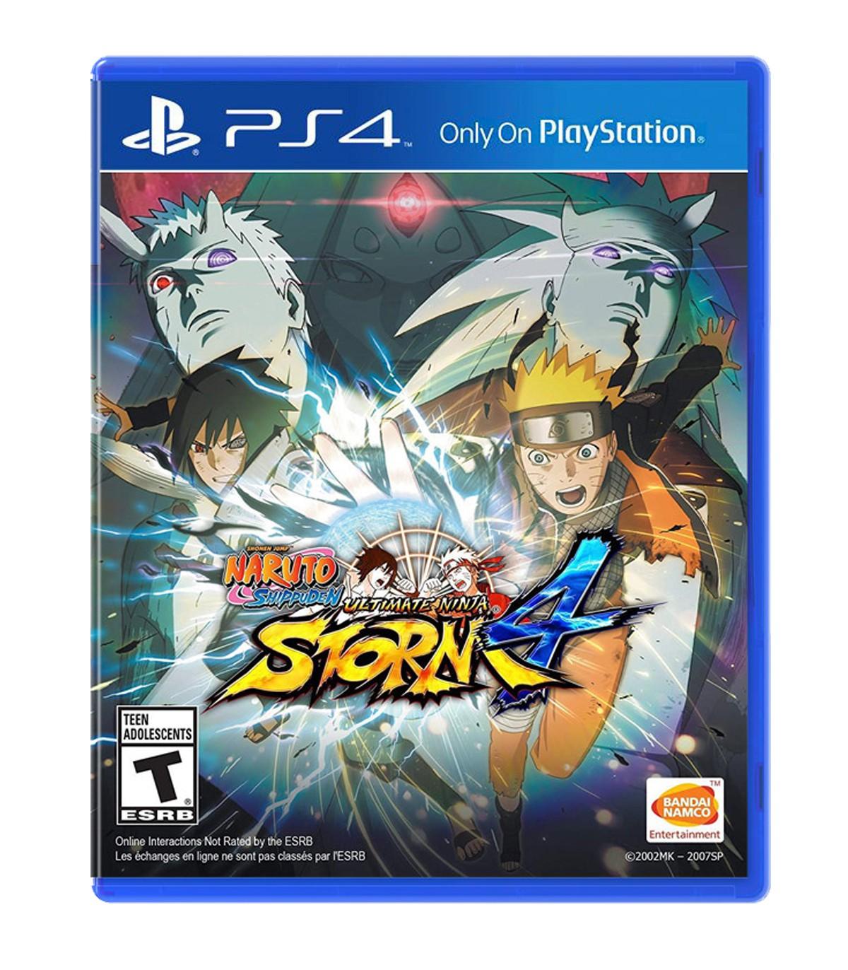 بازی Naruto Shippuden: Ultimate Ninja Storm 4 - پلی استیشن 4