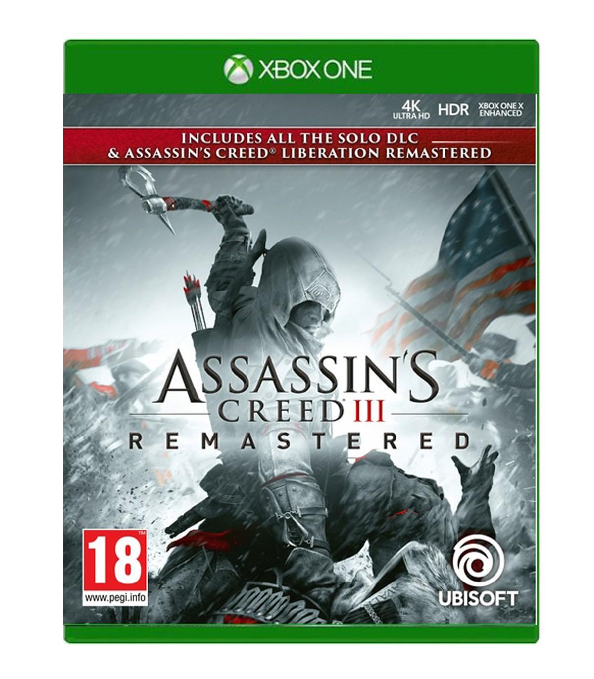 بازی Assassin's Creed 3 Remastered - ایکس باکس وان