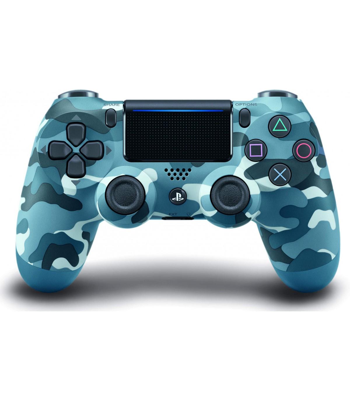 دسته DualShock 4 Wireless Controller ارتشی آبی - پلی استیشن 4