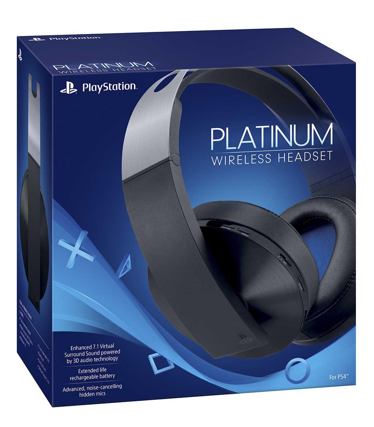 هدست پلاتینیوم سونی PS4 Platinum Wireless Headset