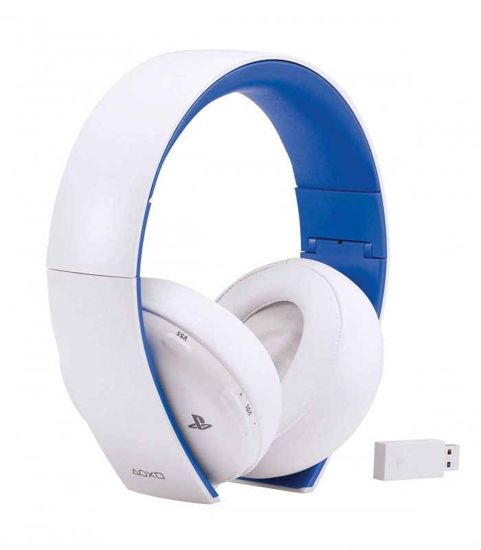 هدست پلی استیشن ورژن ۲ سفید Sony PlayStation Wireless Stereo