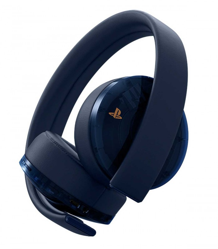 هدست گلد پلی استیشن Gold Wireless Headset 500 Million Limited