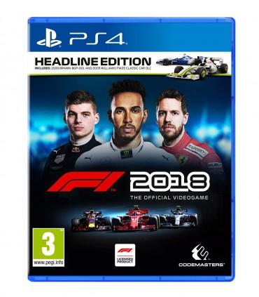 بازی F1 2018 Headline Edition کارکرده - پلی استیشن 4