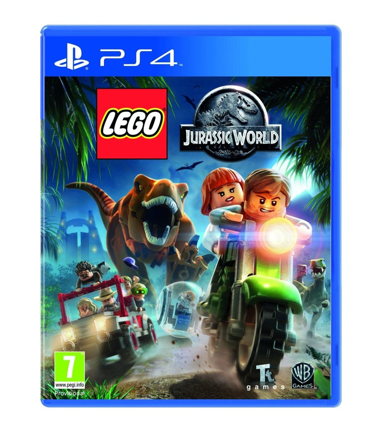 بازی Lego Jurassic World کارکرده - پلی استیشن 4